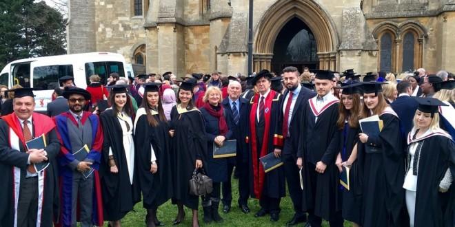 Britanske diplome diplomantima i magistrantima univerziteta SSST