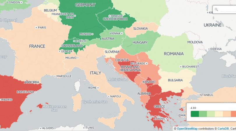 Stopa nezaposlenosti u BiH najviša je u regiji i iznosi 42,76 posto