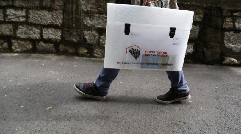 U četvrtak rezultati popisa stanovništva u BiH